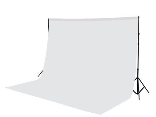 300 x 300 cm Fotostudio Hintergrund Chromakey Green Screen in Weiß