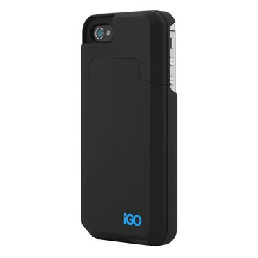 Amazon com: iGO iPhone 4/4s Charger Case 2000mAh Black, Black: Cell