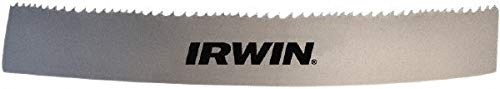 """8 to 12 Teeth per Inch, 9' 7-1/2"""" Long x 1"""" Wide x 0.035"""" Thick, Welded Band Saw Blade pack of 2 -  Irwin Blades"""