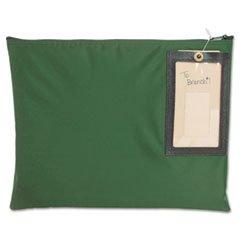 * Cash Transit Sack, Nylon, 14 x 11, Dark Green
