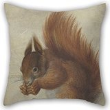 beautifulseason-oil-painting-hans-hoffmann-red-squirrel-pillow-cases-16-x-16-inches-40-by-40-cm-best