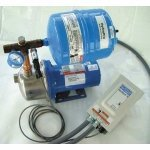 Stainless Steel 1 HP Constant Pressure Booster System, 1 Phase, 208/230 Voltage