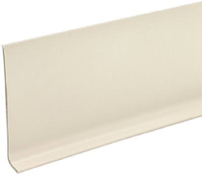 """M D BUILDING PRODUCTS 4"""" x 080"""" x 4' Vinyl Cove Wall Base Dry Back"""