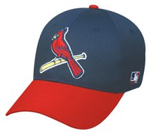 "MLB YOUTH St. Louis CARDINALS Alternate ""Bird"" Hat Cap Adjustable Velcro TWILL"