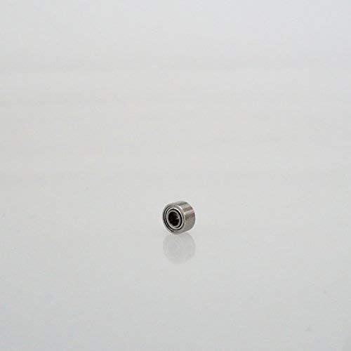 Radial Edelstahl 440C Kugellager 2 x 5 x 2.5 mm geschlossen partCore SMR52ZZ 180062