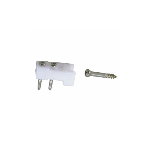 Perko Door Catches - White Nylon/Stainless - Pair (Perko Door Latch)