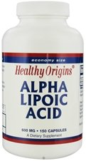 Healthy Origins Alpha Lipoic Acid 600Mg 150 Cap