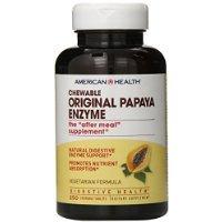 American Health Chewable Multi-Enzymes, Original Papaya, ...
