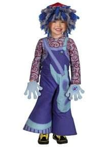 Disguise Toddlers Rooney Doodle Deluxe Child Costume, Blue, 2T
