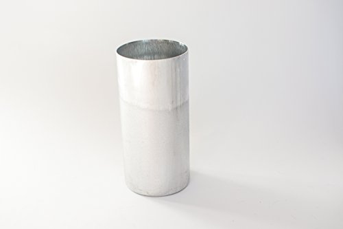 Aluminum Seamless Candle Mold - Round 1 Pc Seamless Mold