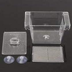 Fish Breeding Box Aquarium Breeder Hatchery Isolation Functional Incubator - 1PCs