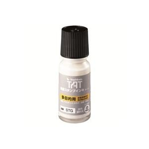 ( お徳用 20セット ) シャチハタ タートインキ 多目的 STG-1 小瓶 白   B01M3RUC8V