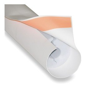 Techlite Insulation - 0379-0400CT100-PF-0930-02 - Melamine Foam Pipe Insulation, 1 Wall Thickness, Hinged with Self Sealing Lap