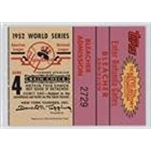 1952 World Series (Game 4) (Baseball Card) 2002 Topps - Ticket to History Expired Sweepstakes Entry #4