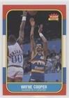 1986 Fleer Basketball Cards - Wayne Cooper (Basketball Card) 1986-87 Fleer - [Base] #18