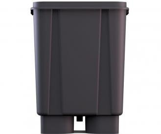 Slucket Posiflow Hydroponics System, 10 Gallon Growth Bucket with Drain Port, for Explosive Plant Growth, 5 Pack