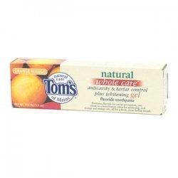 Care Products Flavored Toothpaste (TOM'S OF MAINE TP,GEL,WHL CARE,ORNG MNGO, 4.7)