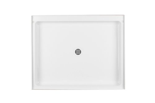 Swanstone R-3442-010 34-Inch by 42-Inch by 5-1/2-Inch Single Threshold Shower Floor, White Finish (Swanstone Shower Pans)