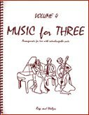 Music for Three, Vol. 4 - Rags & Waltzes - Part 2 (Flute or Oboe or Violin) (River Fiddle Flute And The)