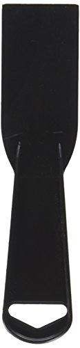 Hyde 5510 1-1/2 Black Plastic Disposable Putty Knife
