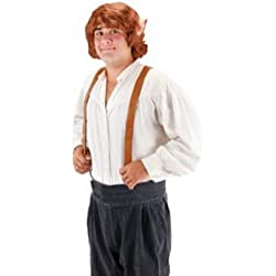 Bilbo Baggins Wig with Ears Costume Accessory