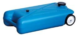 - RV Trailer Tote-Along Portable Holding Tank 10 Gallon H&H ENGINEERING 10893