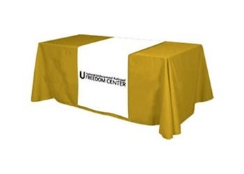Table Runner with Your Logo for Trade Shows and Conferences Capital Exhibits TABLE RUNNERS