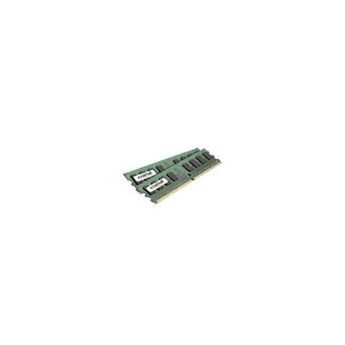 CRUCIAL CT2KIT25664AA667 4GB ( 2GB x 2 ) 240-pin DDR2 667mhz Non-ECC 1.8V CL5 Desktop Memory Module