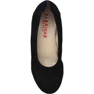 Women's London 34563 Suede Black Sabrinas zdgqvgCw