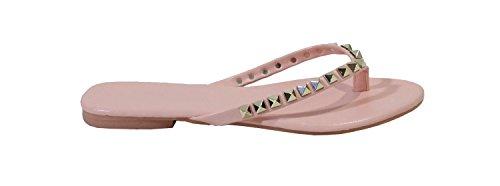 By Shoes - chanclas para Mujer (41, Rosa)