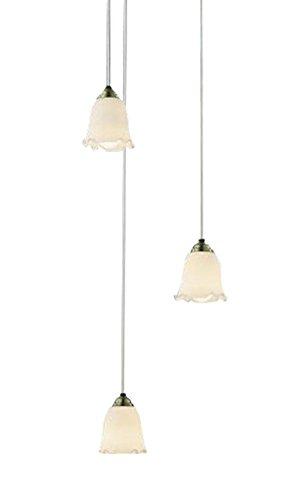 コイズミ照明 吹き抜けシャンデリア 白熱球60W×3灯相当 金古美色メッキ AP39968L B00KVWL7F4 16154