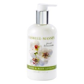 Caswell Massey by Caswell-Massey: PEAR BLOSSOM HAND AND BODY LOTION --10OZ Caswell Massey Rose Body Lotion