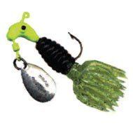 Crappie Thunder 1/8oz Chartreuse/Black/Chartreuse ()