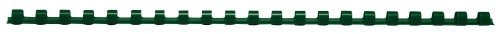 (Texet 78246V 6mm 30Sheets for Plastic Comb Binding Combs 21Ring Green Pack of 100)