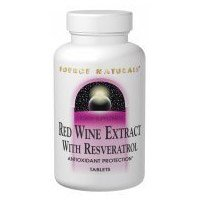 Planetary Herbals Resveratrol Extract with Red Wine Tablets 30 Count Discount