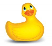 Top Rated - I Rub My Duckie Yellow Floral Oval Package by Erotic Favorites