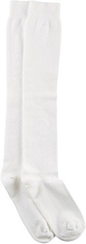 Flat Knit Knee Sock - HUE Women's Flat Knit Knee Sock,One Size, White