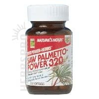 Nature's Herbs Saw Palmetto Extract Softgels, 320 Mg, 60 (Extract Standardized 60 Softgels)