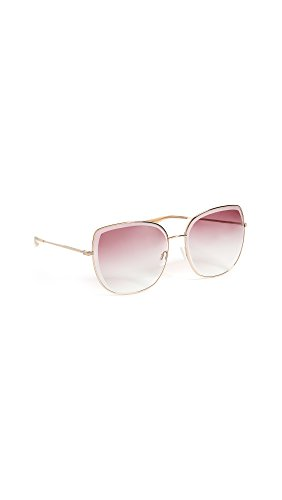 Barton Perreira Women's Espirutu Sunglasses, Rose Gold/Dusty Rose, One - Eyewear Barton Perreira
