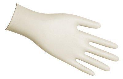 Gauntlets Latex - Disposable Latex Gloves, Gauntlet, Powdered, 5 mil, Medium