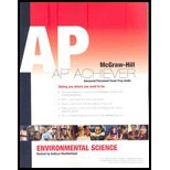 Environmental Science, AP Achiever Test Prep, Cunningham, William, 0078950465