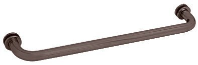 CRL 22 Oil Rub Bronze (BM Series) Tubular Single-Sided Towel Bar by C.R. Laurence