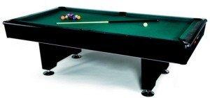 Billardtisch Black Pool - 9 ft. Billard Tisch