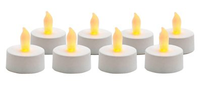 Inglow Flameless Tea Light Candles White 8 / Pack
