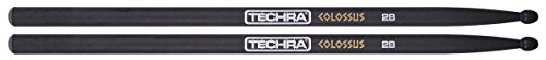 Techra Mike Hansen Artist Signature Series Carbon Fiber Drumsticks, One Pair (COL-2B) -