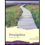 Prealgebra, Lial, Margaret L. and Hestwood, Diana, 0321292758