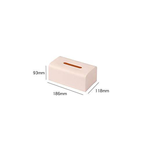 (Tissue Box Plastic Square Car Napkins Holder Case Organizer Holder,Small)