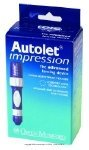 AutoLet Impression Lancet Device, Auotlet impresn Lnc Dev Box-Sp, (1 EACH, 1 EACH)
