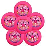 Discraft Ultra-Star 175g Ultimate Frisbee Sport Disc (6 Pack) Pink