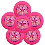Discraft Ultra-Star 175g Ultimate Frisbee Sport Disc (6 Pack) Pink